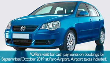 Special Algarve Car Hire Offer