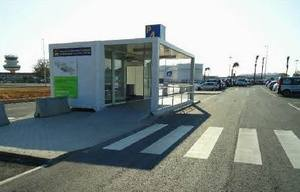 Algarve car hire - Faro Airport desk